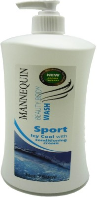 Mannequin Sport ICY Cool-Body Wash-750ml