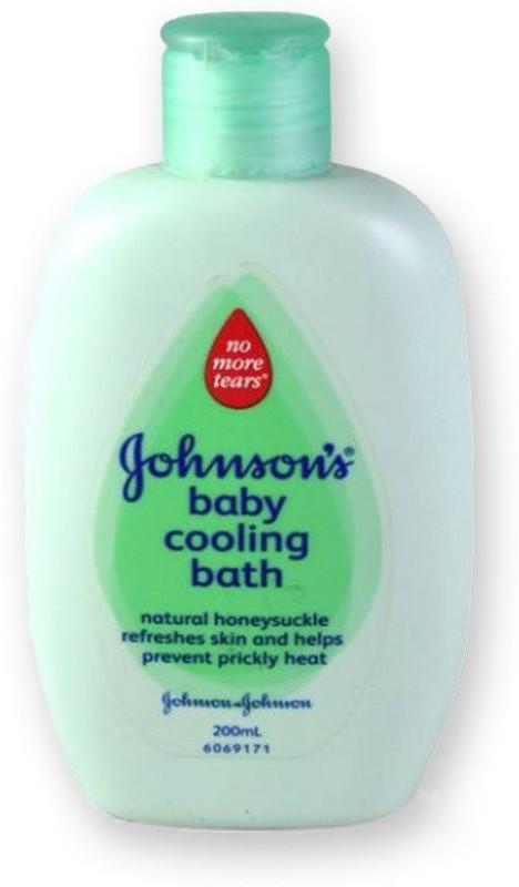 Johnson's Baby Cooling Bath(200 ml)