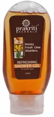 Prakriti Herbals Refreshing Fresh Lime Honey Shower Gel