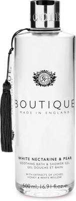 BOUTIQUE WHITE NECTARINE & PEAR - BATH & SHOWER GEL