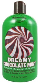 Temptations Body Works Dreamy Chocolate Mint 3 In 1 Body Wash, Bubble Bath, Shampoo(473.12 ml)