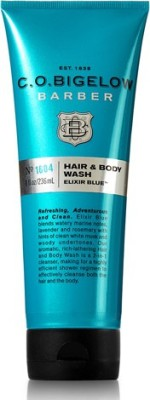 C.O. Bigelow Elixir Blue Men's Hair & Body Wash