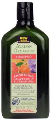 Avalon Organics Grapefruit And Geranium Smoothing Shampoo