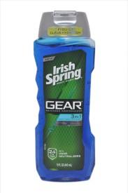 Irish Spring Gear Advanced Performance 3in1 Body+Hair+Face Wash 24hr Fresh