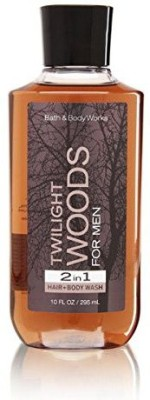 Bath & Body Works Bath Body Works Twilight Woods for Men 2 in 1 Hair