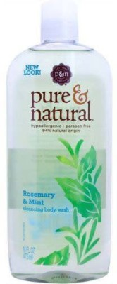 Pure & Natural Bodywash Cleansing Rosemary and Mint