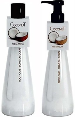 Phytorelax Coconut Body Lotion & with pure Coconut Oil each by Italy