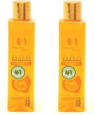 Sreyansh Healthcare Orange Refreshing Shower Gel Combo 2