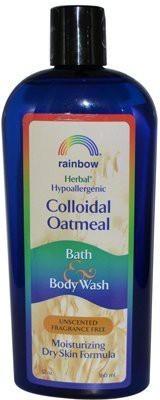 Rainbow Research Colloidal Oatmeal Bath and Fragrance Free Fluid