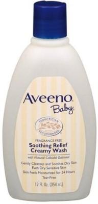 Aveeno Soothing Relief Creamy Wash 12 oz