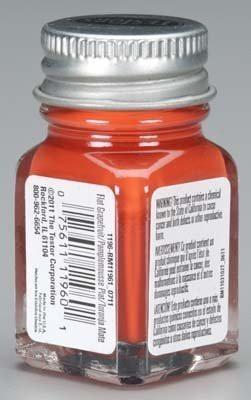 Testors Enamel Paint Open Stock Grapefruit Flat(7.3925 ml)