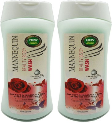 Mannequin Red Rose-Body Wash