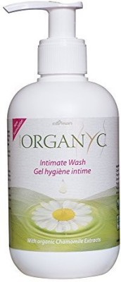 Organyc Certified Organic Natural Intimate Wash with Chamomile Fluid