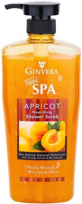 GINVERA SPA APRICOT NOURISHING SHOWER SCRUB