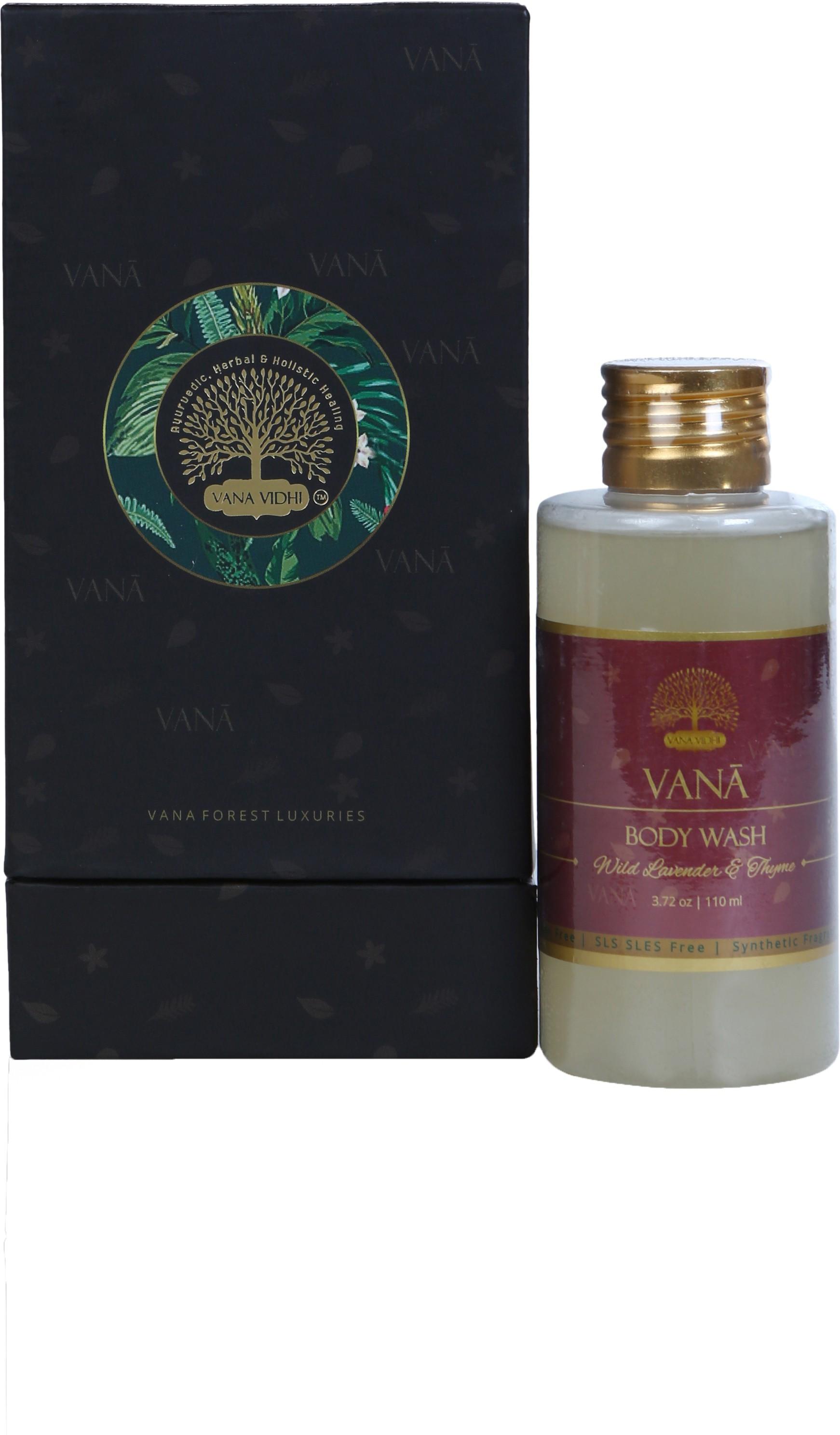 VANA VIDHI Wild Lavender & Thyme Body Wash(110 ml)