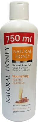 Natural Honey Nourishing Bath Gel 750 ML