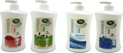 Mannequin Olive,Sport Icy,Lavende,Red Rose Body Wash