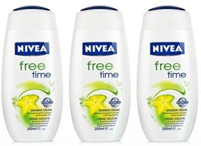 Nivea Shower Free Time Pack 3