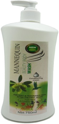 Mannequin Olive-Body Wash-750ml