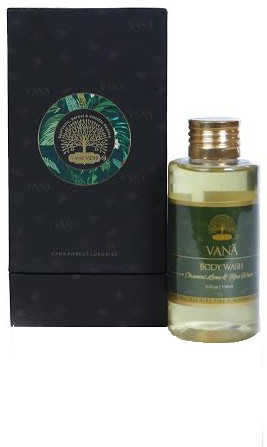 VANA VIDHI Oriental Lime & Rice Water Body Wash(110 ml)
