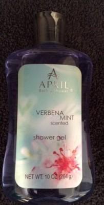 April Bath & Shower April Bath and Shower Verbena Mint