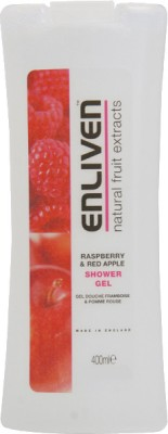 Enliven Raspberry & Red Apple Shower Gel