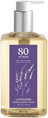 80 Acres Acres Lavender Hand & Body Wash - 10 oz(295 g)