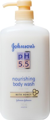 Johnson & Johnson Ph 5.5 Nourishing Bodywash - Honey