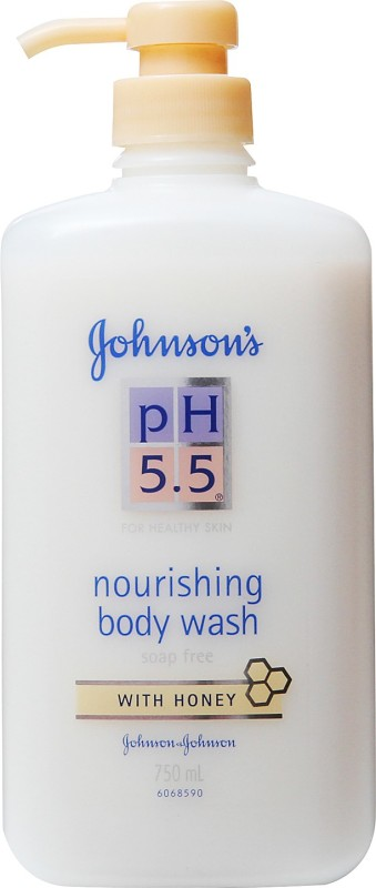Johnson & Johnson Ph 5.5 Nourishing Bodywash - Honey(750 ml)
