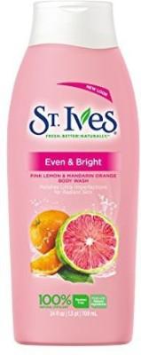 St. Ives St Ives Even & Bright Pink Lemon and Mandarin Orange