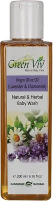 Greenviv Natural Olive Oil Baby Wash