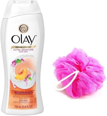Olay Ultra Moisture Sweet Peach Body Wash