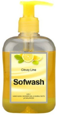 Modicare Sofwash Citrusy Lime Hand And Body Wash Liquid