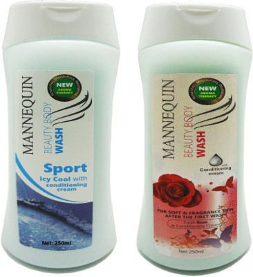 Mannequin Red Rose,Sport Icy Body Wash