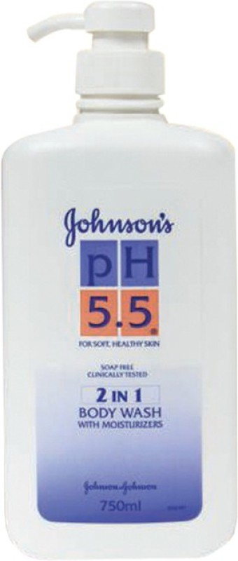 Johnson & Johnson Ph 5.5 2 In 1 Bodywash With Moisturizers(750 ml)