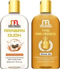 Man Arden Arabian Oudh + The Maverick Luxury Shower Gel(300 ml)