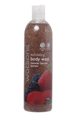 Watsons Exfoliating Body Wash Summer Berrries Extract