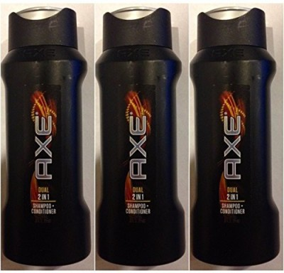 AXE Dual Shampoo + Conditioner Travel Size Pack of
