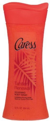 Caress Silkening Tahitian Renewal with Pomegranate Seeds and Coconut Milk Pack of 2