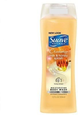 Suave Naturals Milk & Honey Splash