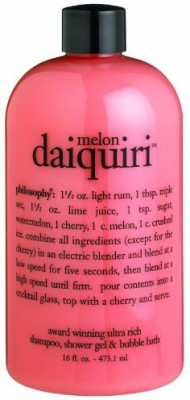 Philosophy Melon Daiquiri Shampoo/Shower Gel/Bubble Bath(473 ml)