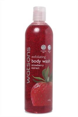 Watsons Exfoliating Body Wash Strawberry Extract