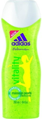 Adidas Vitality Hydrating Massage Pearls Energizing Shower Gel For Women(250 ml)