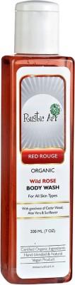 Rustic Art Rose Body Wash