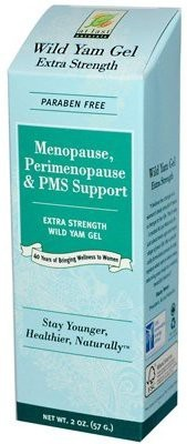 At Last Naturals Wild Yam Gel Extra Strength Menopause Perimenopause & PMS Support