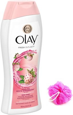 Olay Fresh Outlast Cooling White Stawberry Body Wash