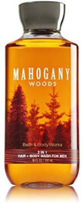 Bath & Body Works Bath and Body Works Mahogany Woods in 1 Men's Hair + 10