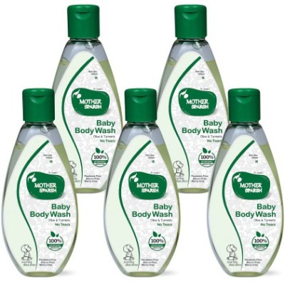 Mother Sparsh Baby Body Wash (Pack of 5)