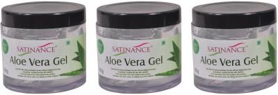Satinance Aloevera Gel (Vit E & A) - Pack of 3