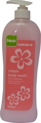 Watsons Floral Scented Cream Body Wash